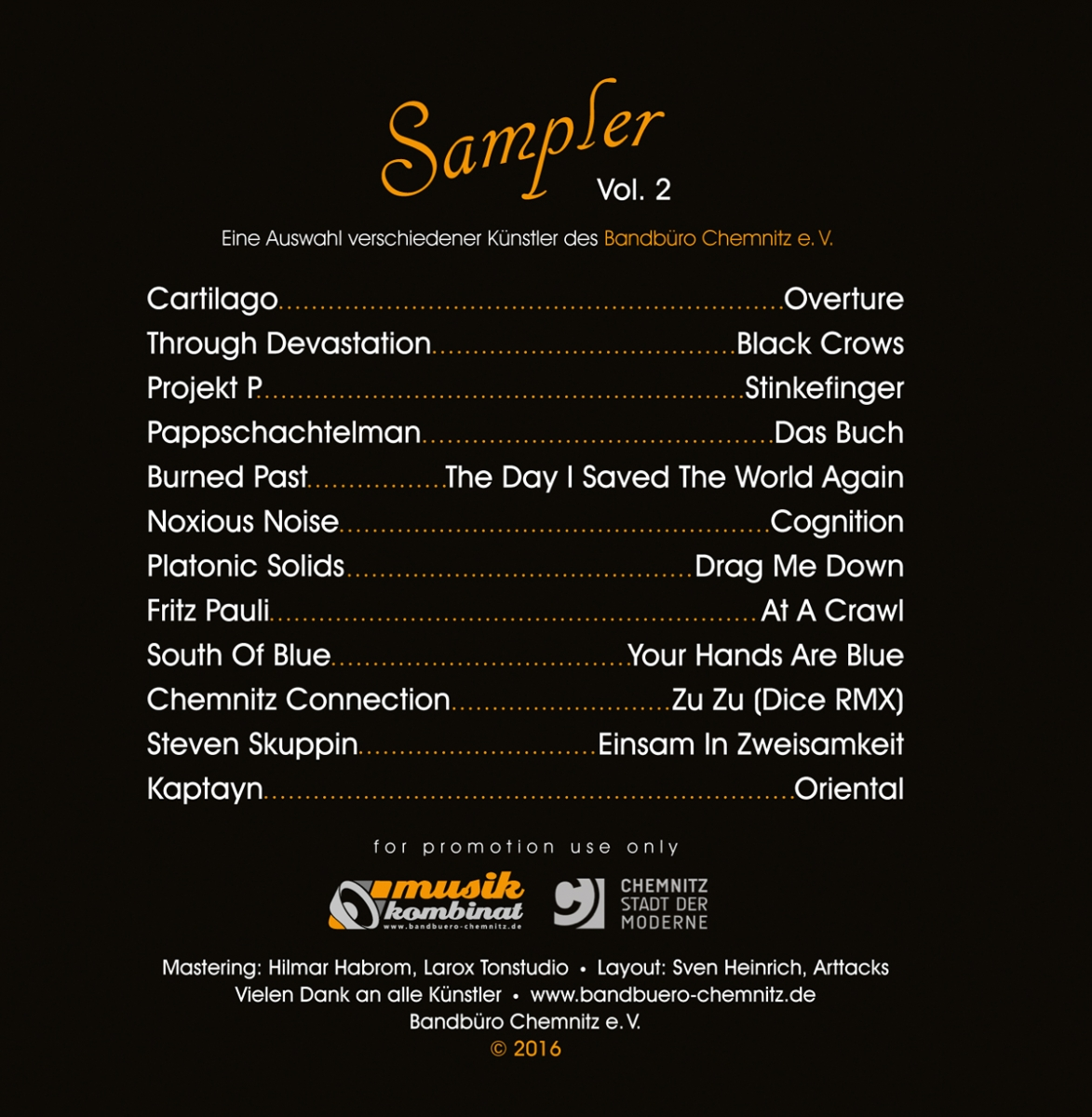 Artists - Cover Sampler - Vol. 02